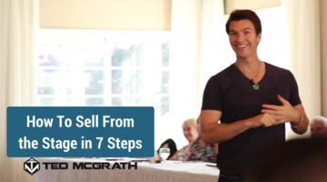 How To Sell From the Stage in 7 Steps