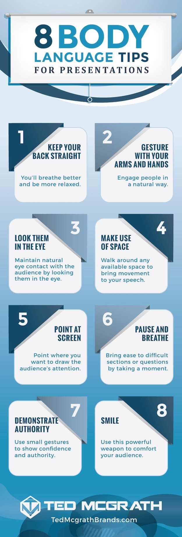 8 Body Language Tips for Presentations