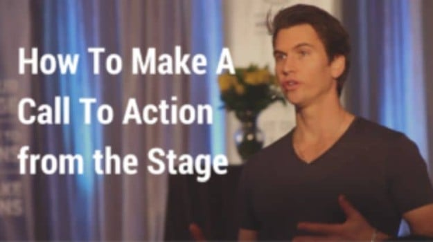 How To Make an Effective Call To Action from the Stage | The Best of 2017 on Ted McGrath