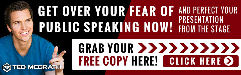 Get Over Your FEAR OF PUBLIC SPEAKING Now! CLICK HERE