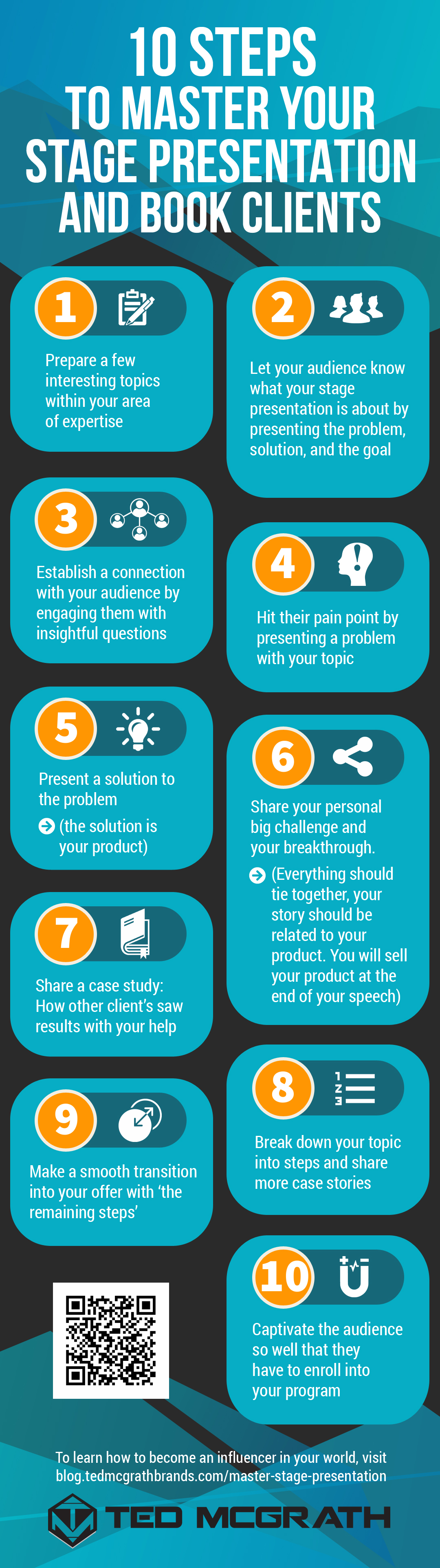 infographic | How To Master A Stage Presentation And Become An Effective Speaker